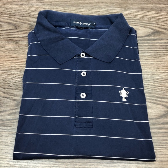 Polo by Ralph Lauren Other - Polo Ralph Lauren Navy White Stripe Polo Shirt XXL